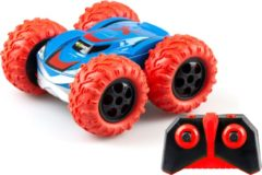 Exost stuntauto RC 360 Cross II junior 1:18 rood/blauw 2-delig