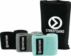Groene Stoffen Booty Bands Pack - Weerstandsbanden | StreetGains®