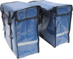 Lastpak Dubbele Fietstas 46 Liter Bisonyl Blauw