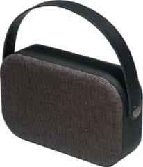 Denver BTS-63 Zwart, Bluetooth speaker handtas met stoffen bekleding