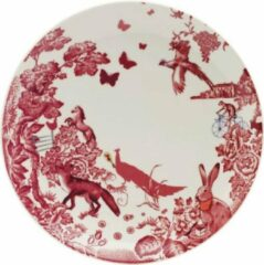 Creme witte Loveramics A Curious Toile dinerbord 27 cm