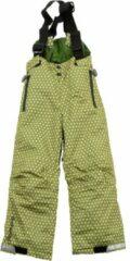 Groene Ducksday skibroek met bretellen voor kinderen unisex Funky Green