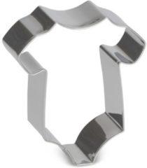 Zilveren Patisse Koekjes Uitsteker Baby Romper 7 cm