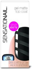 Transparante SensatioNail Matte Top Coat - Gel Nagellak