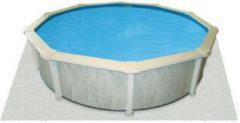 Witte Interline Zwembad Interline ondertapijt voor zwembaden, 6,10 x 3,60 m ovaal