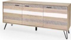 Möbel Ideal Anrichte Dalby Akazie Massiv 180cm Breit