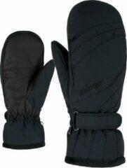 Zwarte Ziener Kileni Dames Wintersporthandschoenen Maat 7