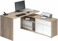 Bermeo Computer hoekbureau Flex - Edel beuken