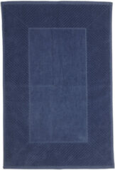 Blauwe The One towelling The One Badmat Cursive 50x80cm Denim