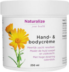 Naturalize Hand en bodycreme 250 Milliliter
