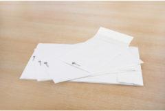 Envelop Raadhuis Securitex C5 162x229mm wit krimp met 5 stuks