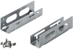 Zilveren Goobay 3,5'' HDD naar 5.25'' slot adapter bracket