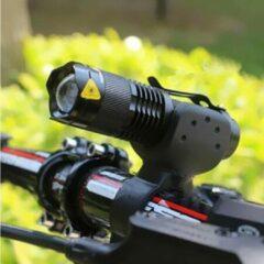 BikerVibes - LED Fiets/zaklamp - max 3000 Lumen - Zwart