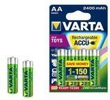 Varta Rechargable Accu 56786101404 - Batterie 4 x AA-Typ NiMH