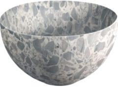 Looox Sink Ceramic Small Waskom / fontein 23cm terrazzo grijs WWKS23TG