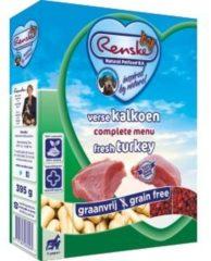 Renske Vers Graanvrij 7+ Kalkoen hondenvoer 1 tray (10 x 395 gram)