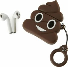 Bruine Sound Banditz Emoji Poop - TWS oordopjes