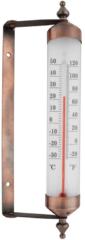 Roestvrijstalen Esschert design Draaibare kozijnthermometer