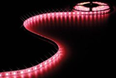 Rode Velleman FLEXIBELE LED STRIP - RGB - 300 LEDs - 5m - 24V