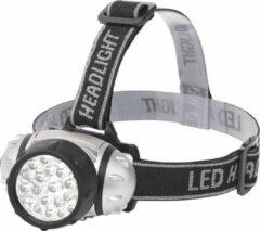 BES LED LED Hoofdlamp - Aigi Slico - Waterdicht - 50 Meter - Kantelbaar - 23 LED's - 1.1W - Zilver | Vervangt 9W