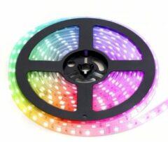 Merkloos / Sans marque LED Strip RGB Kleur 60 LEDs 5 meter
