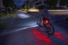 Fischer fietsen FISCHER Accu fietsverlichting Twin 360 graden verlichting voorlicht en achterlicht