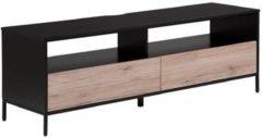 Beliani SYDNEY - TV-meubel - Lichte houtkleur - Spaanplaat
