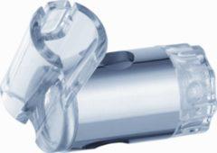 Kludi geleidestuk glijstang Logo, chroom, glijstang diam 18mm