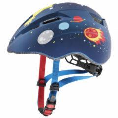 Uvex - Kid's Kid 2 cc - Fietshelm maat 46-52 cm, blauw/grijs