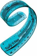 Roze Maped Office 27x Maped liniaal Twist'n Flex, 30cm