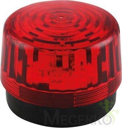 Afbeelding van Rode Velleman HAA100RN Signaallamp LED Rood Flitslicht 12 V/DC