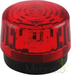 Rode Velleman HAA100RN Signaallamp LED Rood Flitslicht 12 V/DC