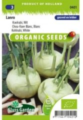 Groene Sluis Garden - Kohlrabi Lanro blanc biologisch