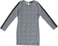 Grijze Crush Denim - Meisjes Jeansjurk Maat 116