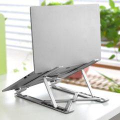 Zilveren Merkloos / Sans marque Aluminium Vouwbare Laptop Standaard - 6 voudig