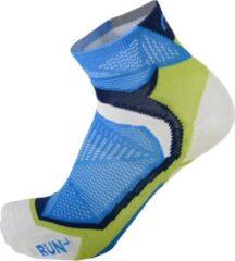 Blauwe Mico Extralight weight professional running socks