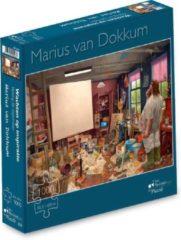 Art Revisited Marius van Dokkum - Wachten op inspiratie - Puzzel 1000 stukjes