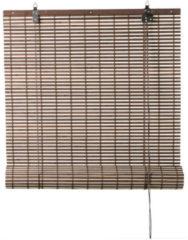 Xenos Rolgordijn bamboe - bruin/naturel - 60x180 cm