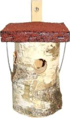 Beige Nnice International Vogelhuisje Berk - Bituum dak
