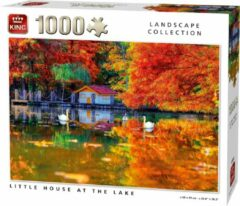 Witte King Legpuzzel Little House at the Lake 1000 Stukjes