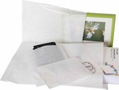 Neutral Papieren zakjes, wit, 15 x 22cm (50 stuks).