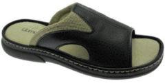 Zwarte Slippers Uomodue By Riposella UD50760ne