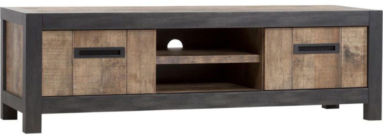 Afbeelding van Budget Home Store TV meubel Coruna 2 deuren en 2 vakken