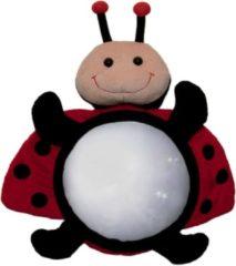 Rode Little Luca - Luca Spiegel Autospiegel - Lieveheersbeestje