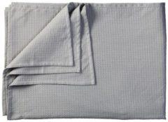 Grijze KAAT Amsterdam Maud - Bedsprei - Eenpersoons - 180x260 cm - Grey