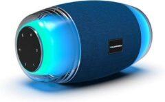 Blauwe Blaupunkt BLUETOOTH-SPEAKER MET LICHTEFFECTEN