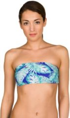 O'Neill Reversible Bandeau Bikini Top Blue Bikinis