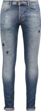 Afbeelding van Blauwe Cars Jeans 45005165 Aron Super Skinny Slim fit Jeans Maat W36 X L36