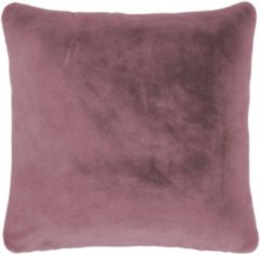 ESSENZA Furry Sierkussen Vierkant Dusty lilac - 50x50 cm