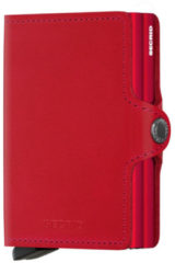 Rode Secrid Twin Wallet pasjeshouder original red-red